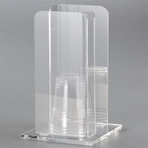 Porta Bicchieri by Portabicchieri In Plexi Trasparente Like Water 11 5x11