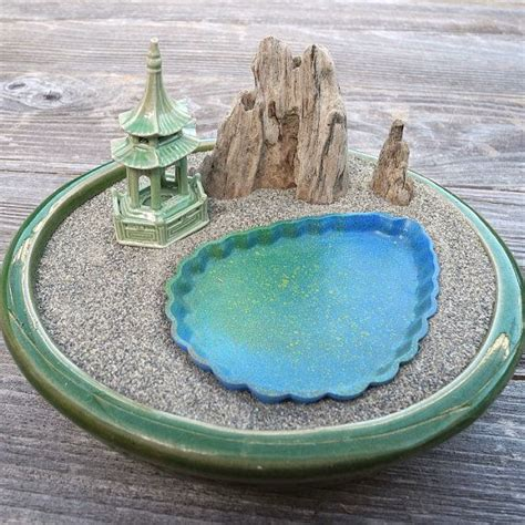 Zen Garten Miniatur by Miniature Zen Garden Landscape With Mountain Lake