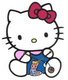 Crochet Hello Kitty Clip Art