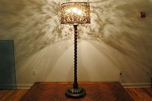 Lamp shades for antique floor lamps images for Replacement lampshade for old floor lamps
