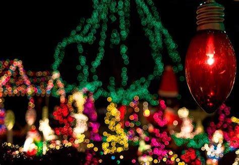 christmas light photography tips