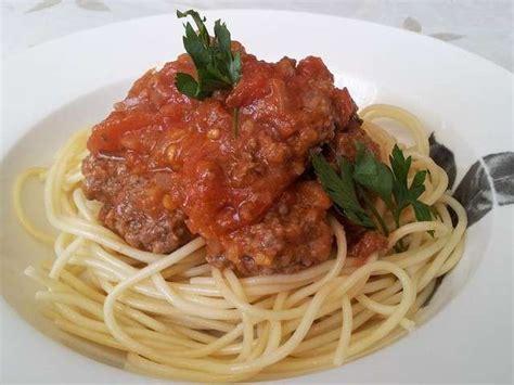 recettes cuisine simples et rapides recettes de spaghetti à la bolognaise de cuisine simple et