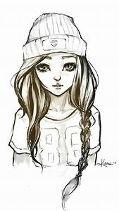 best cute girl drawings ideas and images on bing find what you