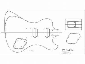 gibson rd With bass guitar body templates