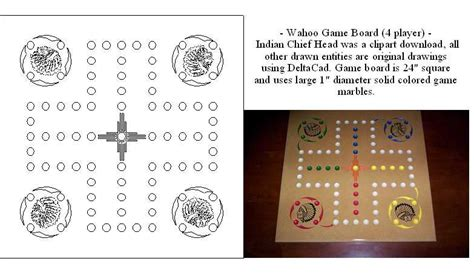 wahoo board template drawings page 3