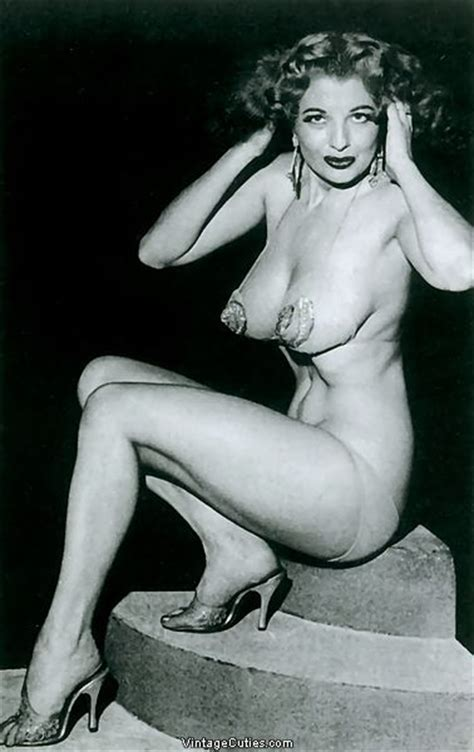 Tempest Storm: Vintage Burlesque Pin-up Stripper, Redhead