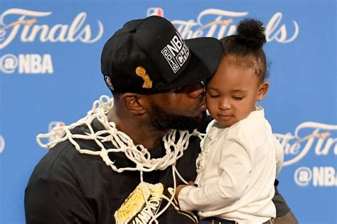 lebron james kids  championship celebration