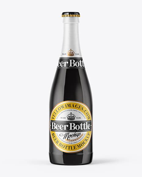 All three mockups are highly customizable and are easy to use. 500ml Amber Beer Bottle Mockup - 330ml Amber Glass Stout ...