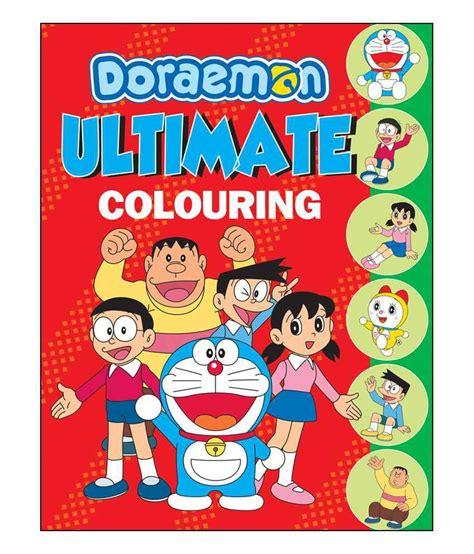 doraemon ultimate colouring doraemon colouring books