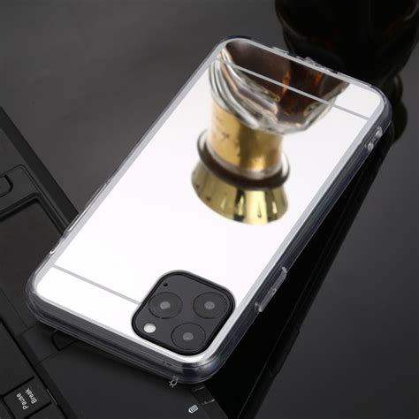 For iPhone 11 Pro Max TPU + Acrylic Luxury Plating Mirror
