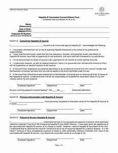 employee information form template credit application With vaccination consent form template