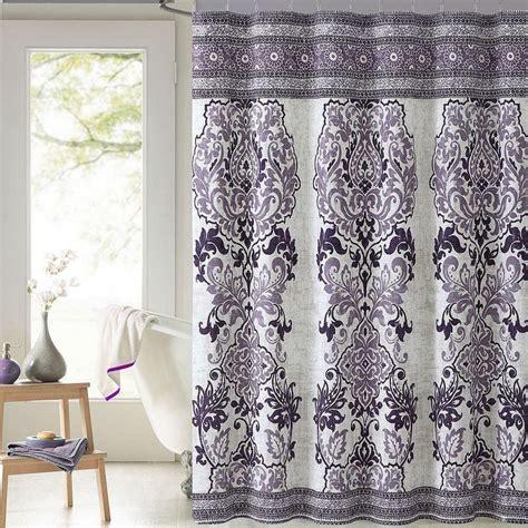mariah plum purple paisley cotton fabric shower curtain victoria classics cotton fabric
