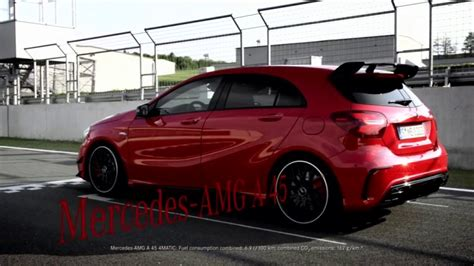 2018 Mercedesbenz Amg A45 Youtube