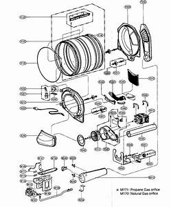 Drum Support Roller Assembly For Lg Dlg8388nm Dryer