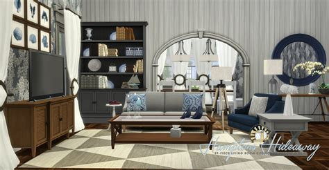 Www Livingroom by Simsational Designs Htons Hideaway Living Room Set