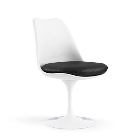 knoll tulip armless chair door eero saarinen design oostende