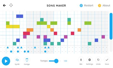Play around for a few minutes a day, and. Free Online Pattern Based Music Maker: Chrome Music Lab