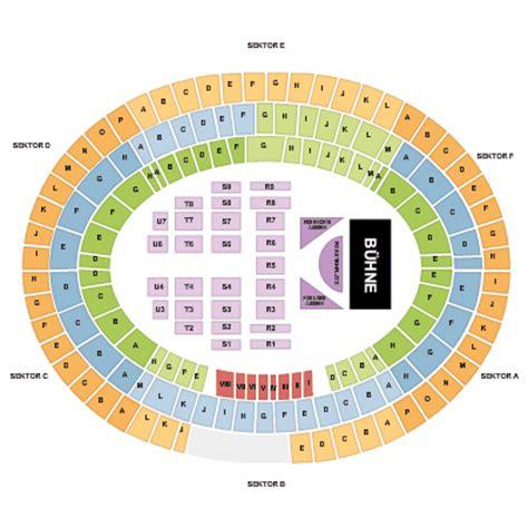 Ernst Happel Stadion Seating Plan Concert поиск по картинкам Red