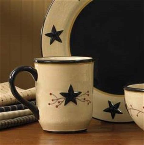 Star Vine Mugs by Park Designs   Star Vine Dinnerware