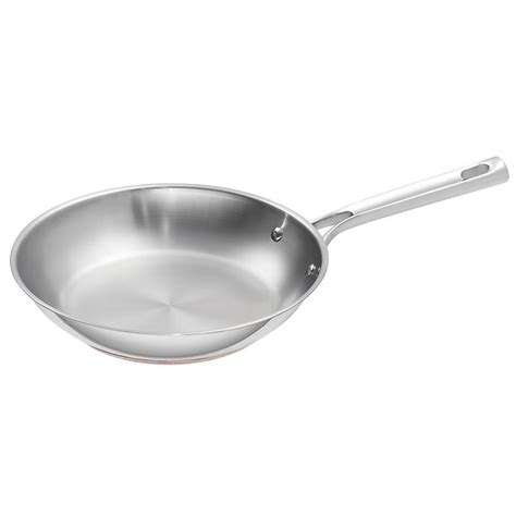 emeril   stainless steel  copper core saute pan bed bath