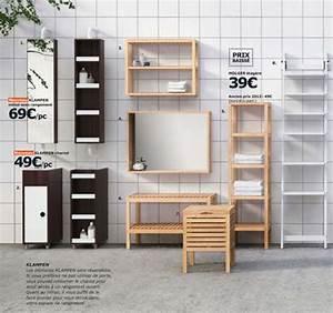 Meuble Salle Bain Ikea : ides de armoire de rangement salle de bain ikea galerie dimages ~ Nature-et-papiers.com Idées de Décoration