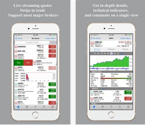 iphone stock market apps  treding  iphone ipad
