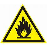 Flammable Fire Sign Substances Warning Safety Risk