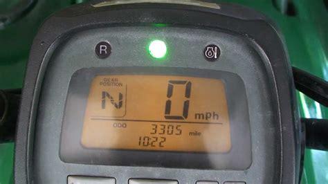 Honda 2000 Fuse Box Display by Honda Rancher Es Electric Shift Not Wanting To Shift