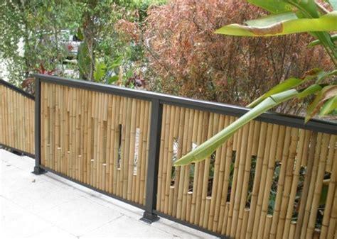 Bamboo Garden Fence Design bamboo fence screening home design interior home decor