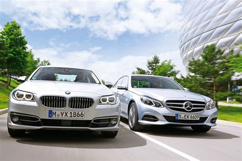 2014 Bmw 530d Vs Mercedes-benz E350 Bluetec Comparison