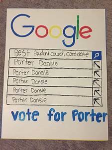 Student council poster. Google poster. | Student council ...