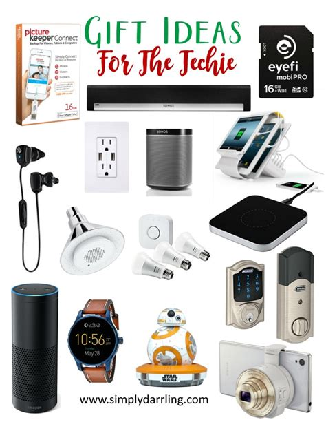 super holiday gift guide gifts for the techie simply