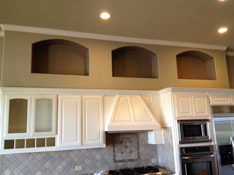 wall cabinets kitchen custom painting ideas cabinets accent walls niches 5998