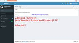 programming tutorial sharing how and learn together With express template engines