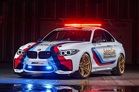 bmw  safety car revealed    performance parts