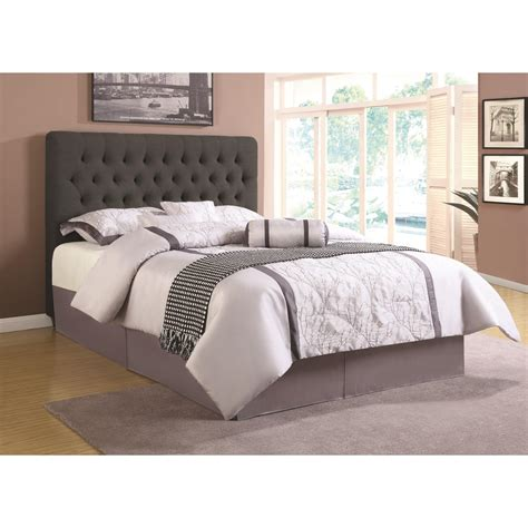 Upholstered Headboards by Coaster Upholstered Beds 300529qb1 Upholstered