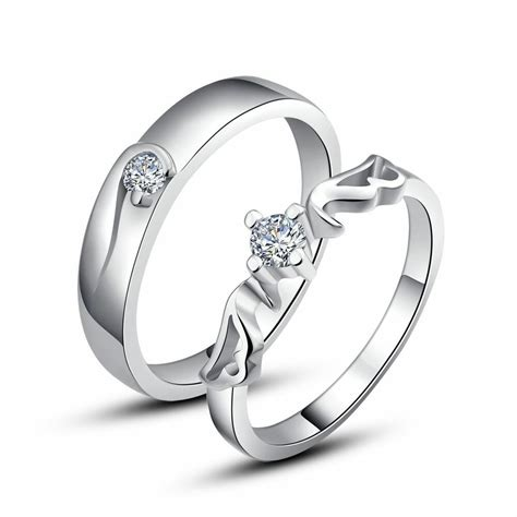 925 sterling silver couple love imperial crown wedding rings size 4 5 12 sy09 ebay