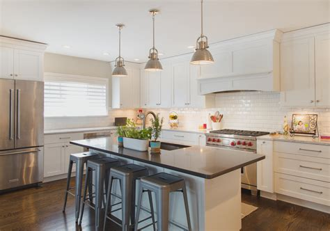 pictures of gray kitchen cabinets five kitchens 7456