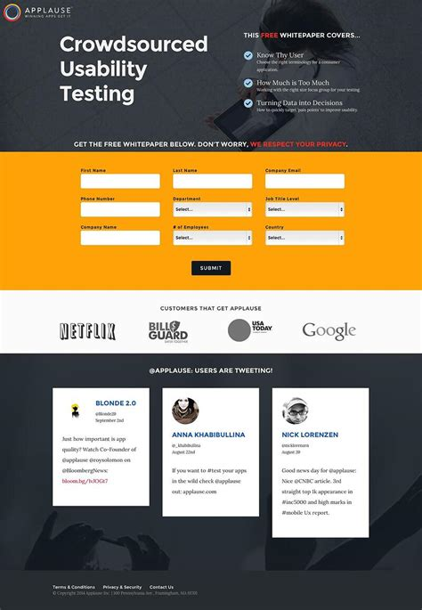 Best Landing Page Examples For Lead Generation