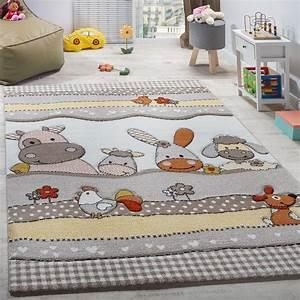 Teppich Für Kinderzimmer : kinderteppich kinderzimmer bauernhof tiere beige kinderteppiche kinderzimmer kinder zimmer ~ Eleganceandgraceweddings.com Haus und Dekorationen