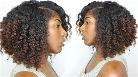 Braidout on Natural Hair for Thick Type 4 Hair YouTube