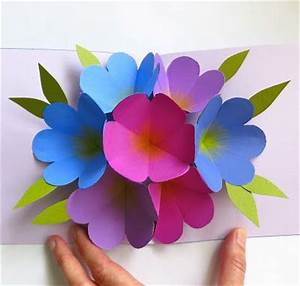 by Martha Stewart: pop up flower card. Perfect for mother ...