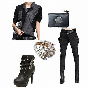 Womens Punk Outfit Ideas | LATICCI