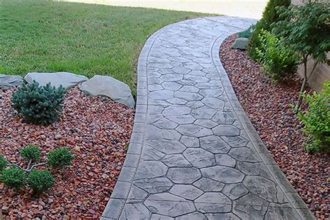 decorative concrete walkways 1000 images about paver walkways and patios on pinterest sted concrete walkways and driveways