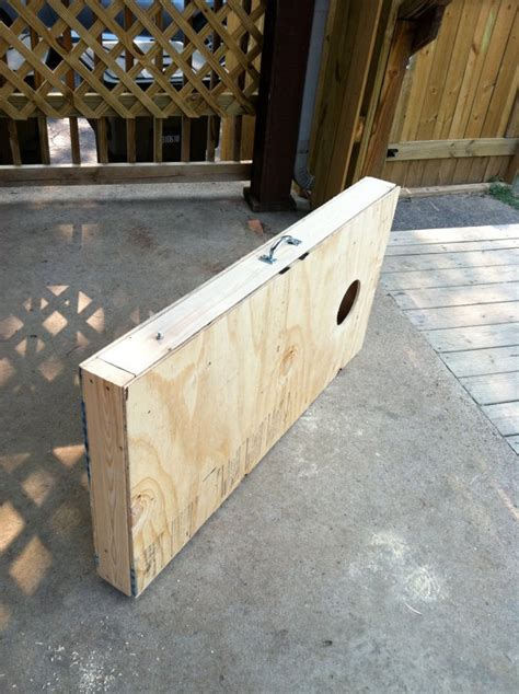 corn hole boards  fit     easy