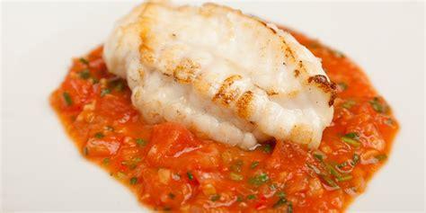 salmon canapes monkfish recipe with tomato garlic great
