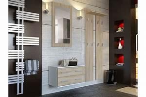 Meuble De Rangement Entrée : ensemble de meuble de rangement mural cbc meubles ~ Farleysfitness.com Idées de Décoration