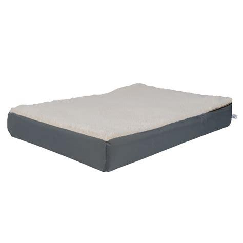 large orthopedic bed xl orthopedic beds large grey premium