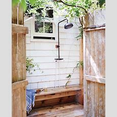 Outdoor Showers  Natalie Bowen Design