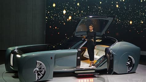 The Rolls-royce Vision 100 Concept Is Completely